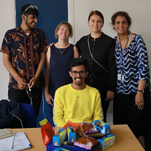 Cardiff English Academy students and teachers
